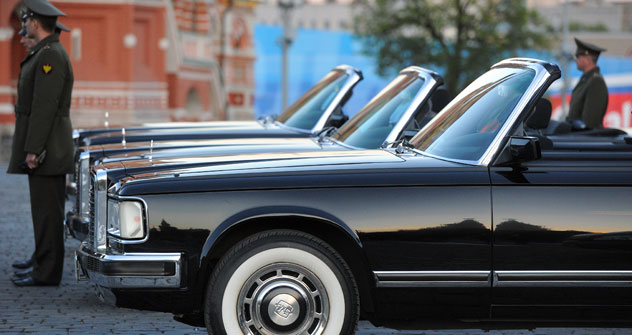 Le constructeur automobile ZIL a déjà produit en coopération avec la société Depo-ZIL un prototype d'une voiture de classe luxe. Crédit photo: Kommersant Photo