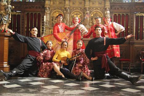 Le groupe a joué sur la scène du Théâtre royal de la Monnaie. Source: Archives personnelles