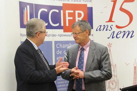 Pascal Boniface, le directeur de l'Institut de Relations Internationales et Stratégiques (IRIS). Crédit photo: Maria Afonina