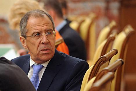 Sergueï Lavrov: «La Russie cherche honnêtement à faire comprendre le caractère indispensable d'un cessez-le-feu et d'entretiens aux autorités syriennes». Crédit: PhotoXPress