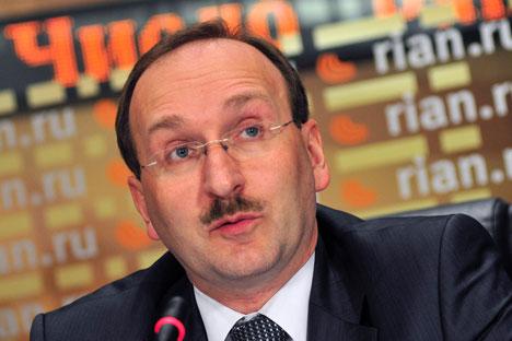 Le secrétaire de la CEC Nikolaï Konkine. Crédit: PhotoXPress