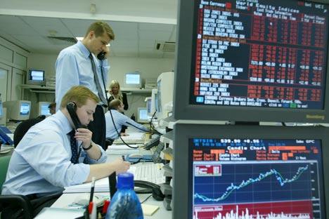 Uralsib Capital: «La Russie reste relativement attrayante, ce qui confirme notre théorie de la réaction tardive des fonds d'investissements spécialisés sur les actifs russes». Crédit: Itar-Tass