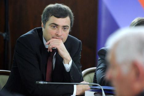 Vladislav Sourkov: «Des réussites, pour moi, il y en a déjà». Crédit: Yana Lapikova/RIA Novosti