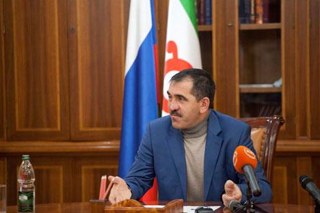 Evkourov nie que les problèmes de sécurité soient un frein au développement du tourisme. Crédit: Ricardo Marquina