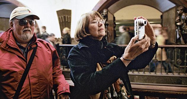 Selon les organisateurs du concours, beaucoup d'images, de préjugés et d'impressions liés à la ville, mais aussi aux Moscovites, sont négatifs. Crédit: Ruslan Krivobok/RIA Novosti