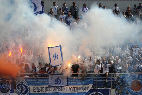 La violence des supporters russes menace-t-elle le Mondial 2018 ? Crédit photo: Alexandre Wilf / RIA Novosti