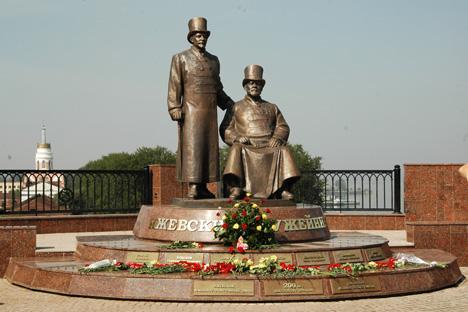 Le monument aux armuriers à Ijevsk. Crédit photo: ITAR-TASS
