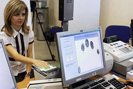 À titre expérimental, la nouvelle technologie sera d'abord utilisée dans les centres clientèle. Crédit: Kommersant