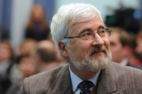 L'ambassadeur de France en Russie, Jean de Gliniasty: «Le Parlement européen peut conseiller, recommander, mais il ne prend pas de décisions». Crédit: Itar-Tass