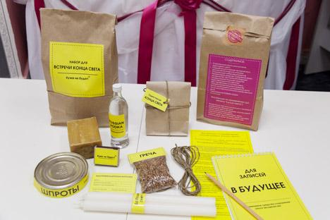 Actuellement, les magasins de Tomsk vendent des paquets contenant des biens de première nécessité en cas d'apocalypse. Crédit photo:  ITAR-TASS