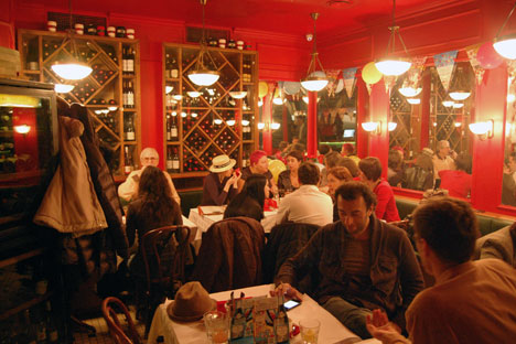 Restaurant «Jean-Jaques» au boulevard Nikitski. Crédit: Alexandre Boutsynov