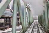 chemin de fer à Moscou