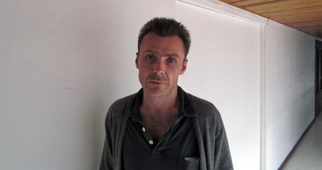 Dimitri Bortnikov: «Je me sens certes comme un dessert bizarre, mais tous les écrivains sont exotiques aux yeux des lecteurs français». Crédit: Eugène Zagrebnov