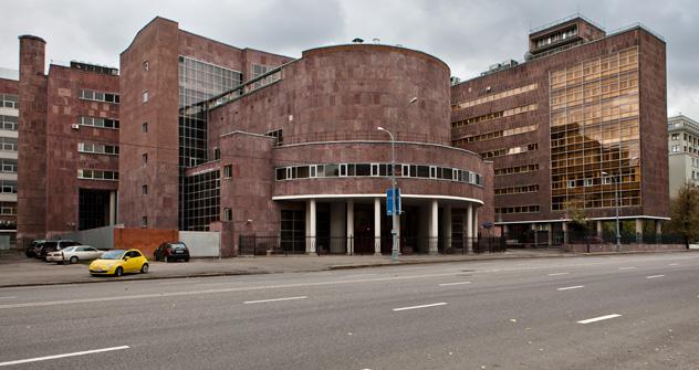 La Maison des Syndicats (Dom Tsentrossoïouza) à Moscou, est bâti en 1936 par Le Corbusier, dans la rue Myasnitskaïa. Crédit photo: Kirill Lagoutko