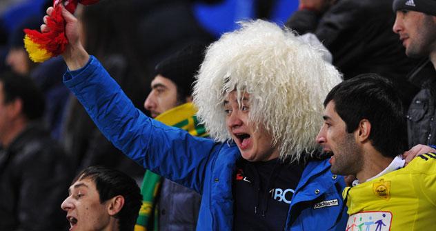 La police a arrêté près de 70 personnes suite au match Anzhi - Udinese. Crédit: RIA Novosti