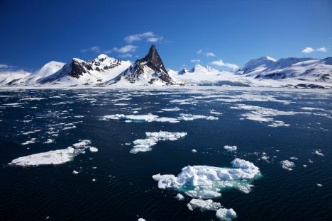 Jusqu'à présent, la Russie se disputait le contrôle de la région arctique avec la Norvège, le Canada, les Etats-Unis et le Danemark mais sans résultat. Crédit : Alamy/Legion Media