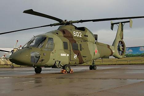 L'hélicoptère Ka-60 Kasatka Source : kamov.ru
