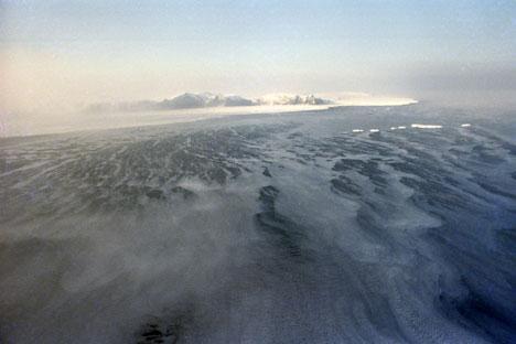 La Réserve de l'île Wrangel, inscrite au patrimoine mondial de l'Unesco. Crédit: RIA Novosti