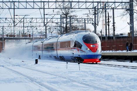 Sur le long terme, il fait le pari que « le rail russe aura un rôle croissant dans les transports entre l'Asie et l'Europe » avec la France comme un des principaux aboutissements du corridor ferroviaire. Crédit photo: Lori / Legion media