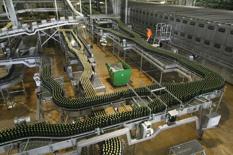 En Russie 20% de la production de bière se fait en région dans de petites brasseries. Crédit : PhotoXPress