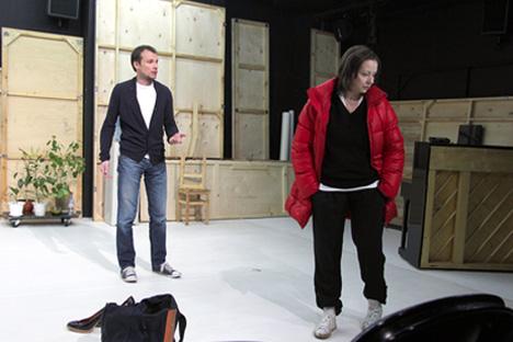 Acteurs: Andreï Kuzichev, Evguénia Dobrovolskaïa. Source: www.mxat.ru