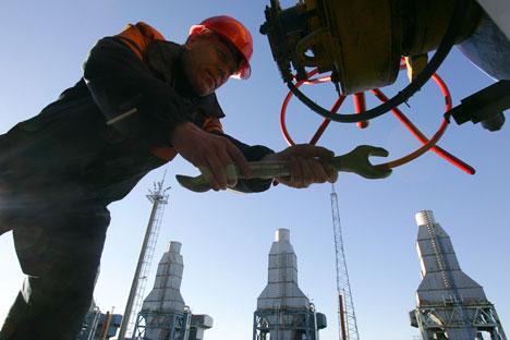 Malgré la baisse des exportations, les projets de construction d'oléoducs par Gazprom se poursuivent. Crédit: AFP/EastNews