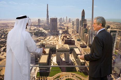 Les marchés comme Dubai semblent à Moscou les plus prometteurs. Crédit: Alamy/Legion Media