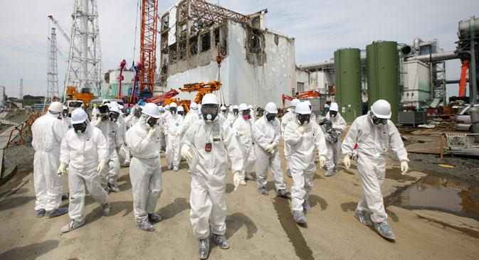 L'accident nucléaire de Fukushima n'arrêtera pas le développement de l'énergie nucléaire. Crédit : AP