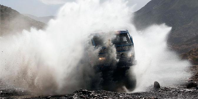 Dans la catégorie des camions la Russie a temporairement perdu des places, mais dans la catégorie des véhicules légers, elle s'est au contraire fortement renforcée. Crédit : AP