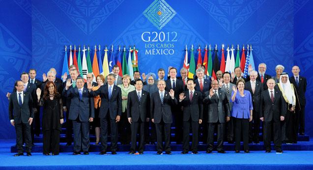 Le G-20 réunit les 19 principales économies de la planète, plus l'Union Européenne. Crédit photo : ITAR-TASS