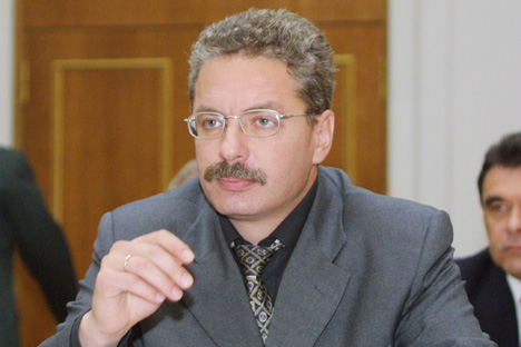 Anatoli Yanovski, vice-ministre russe de l'énergie. Crédits photo: Itar-Tass