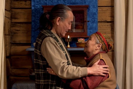 Scène du film «La demande de la mère» de Baïr Dychenov. Source: service de presse