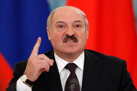 Le président Loukachenko est de plus en plus isolé en Europe.  Crédits: Reuters/Vostock Photo