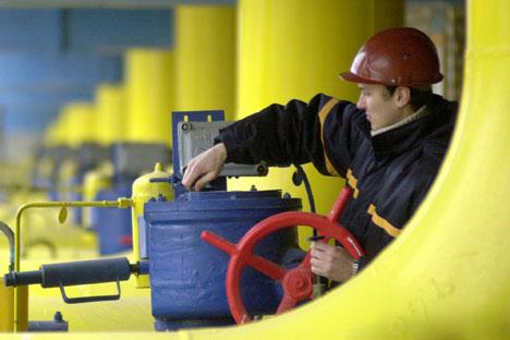 En raison de la crise, l'Europe réduit la consommation de gaz russe, en le remplaçant par des fournitures d'autres pays. Crédit : AP