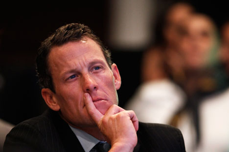 The United States sporting icon Lance Armstrong. Source: Reuters