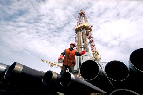 La question la plus importante pour la Russie, c'est de déterminer les moyens pour surmonter sa dépendance des prix du pétrole. Crédit : Itar-Tass