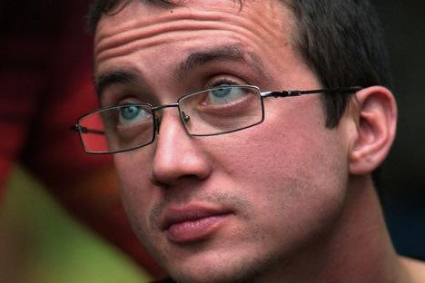 Alexandre Dolmatov, qui travaillait comme constructeur dans une entreprise militaire, a fui la Russie en juillet 2012 Source : vk.com