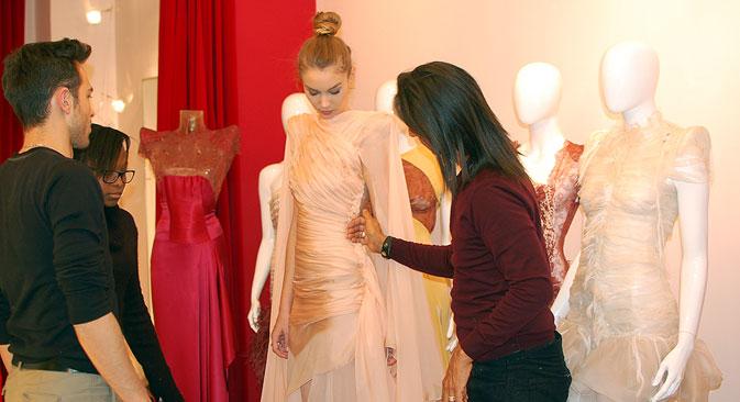 """Jean Doucet : """"On retrouve l'élégance de la danse dans la haute couture"""".  Crédit : Maria Tchobanov"""