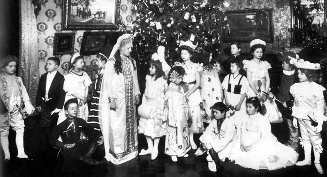 Le Nouvel an, 1913. Crédit : Kommersant