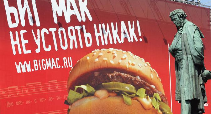 Les Russes d'un âge moyen conservent leurs habitudes alimentaires de jeunes. Crédit : PhotoXPress