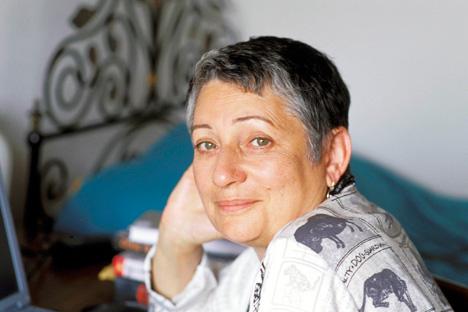 Lioudmila Oulitskaïa. Crédit photo : Opale / East News