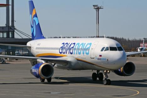 La compagnie Avianova a mis la clef sous la porte avec un endettement de 28,9 millions d'euros. Crédit : Itar-Tass