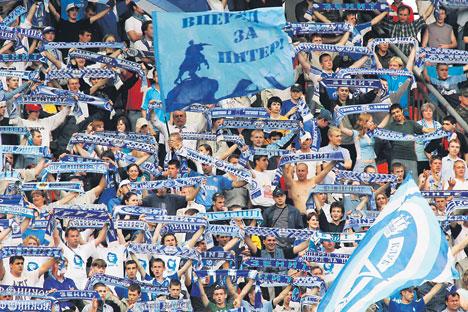 C'est le Zenit Saint-Pétersbourg qui a ouvert le bal en prenant le dessus sur Liverpool au stade Petrovski. Crédit : Photoshot / Vostock Photo