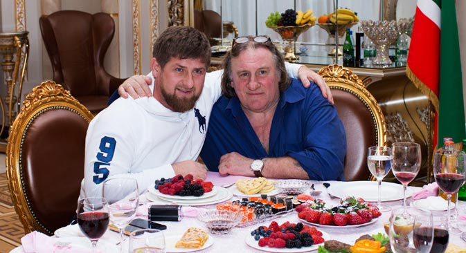 « C'est une visite à un ami », a déclaré Depardieu pour évoquer les raisons de son voyage. Crédit photo : Reuters