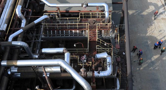 En 2013, Gazprom va nettement baisser ses prix à ses clients européens. Crédit : RIA Novosti