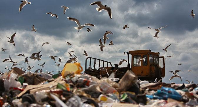 La taxe de recyclage favorise le maintien de la production en Russie, qui empêche à son tour la fuite d'une partie des revenus fiscaux hors du pays tout en créant des emplois. Crédit : Andreï Stenine/RIA Novosti