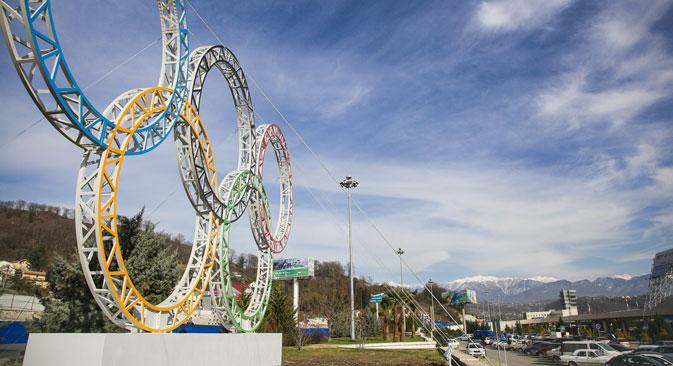 Les Jeux de Sotchi, plus onéreux que ceux de Vancouver, seront toutefois bien moins chers que ceux de Londres. Crédit : Itar-Tass