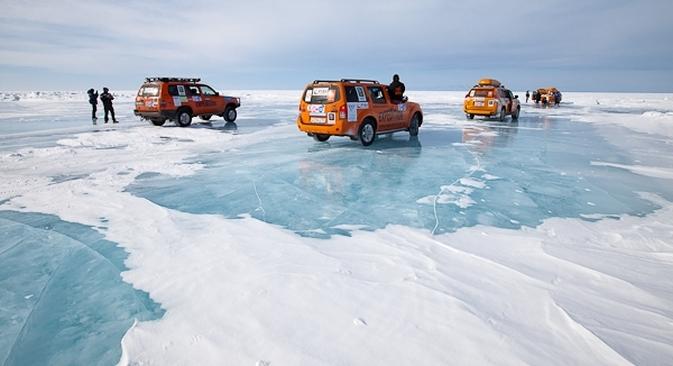 Le 23 février, des douzaines d'aventuriers enthousiastes se lanceront dans un périple de 16.000 kilomètres à travers la Russie sauvage et glaciale. Crédit : Expedition