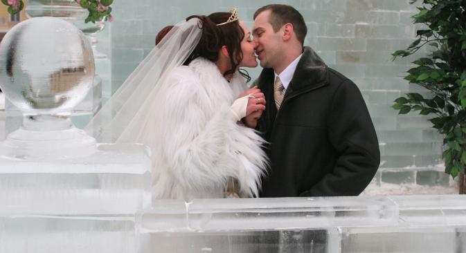 Pour de nombreux étrangers, un mariage en Russie, c'est une véritable aventure. Crédit : Itar-Tass