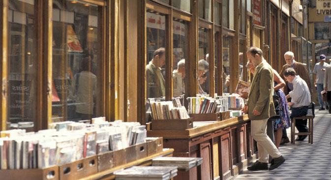 Les écrivains classiques russes sont toujours populaires en France. Crédit : AFP/East News